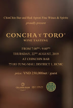 Concha Y Toro Wine Tasting | AUGUST 2019 (SAIGON)