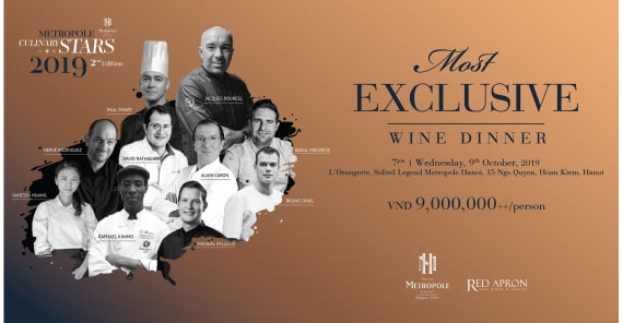 Culinary Stars 2019 | Most Exclusive Wine Dinner
