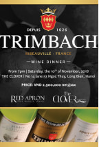 Trimbach Wine Dinner | November 2018 (HA NOI | SAIGON)