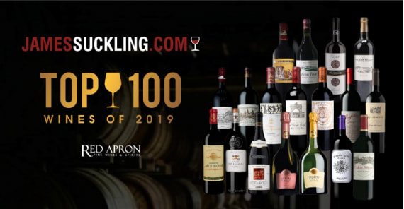Our selection in James Suckling Top 100 of 2019