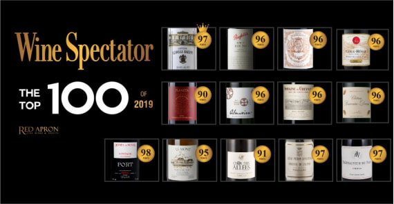 Our Selection in Wine Spectator Top 100 of 2019