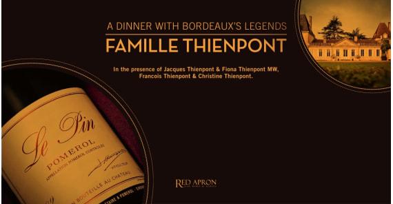 A dinner with Bordeaux's Legends: Famille Thienpont