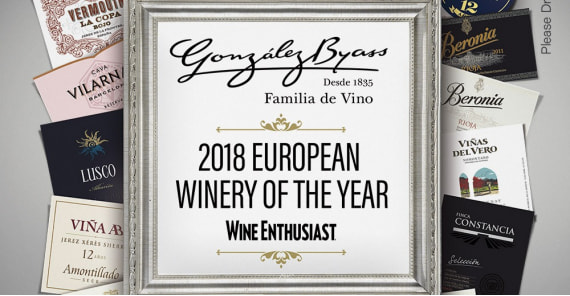 González Byass is European Winery of the Year