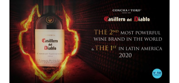 CASILLERO DEL DIABLO - THE 2ND MOST POWERFUL WINE BRAND 2020