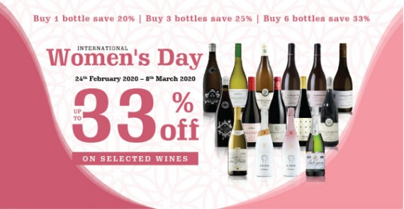INTERNATIONAL WOMEN'S DAY | UP TO 33%