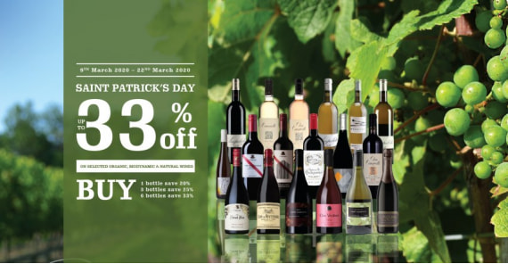 SAINT PATRICK'S DAY | UP TO 33%