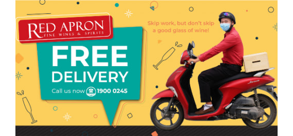 FREE WINE DELIVERY IN HANOI, DANANG, HOI AN, HO CHI MINH...