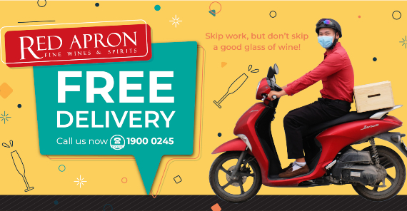 FREE WINE DELIVERY IN HANOI, DANANG, HOI AN, HO CHI MINH CITY & PHU QUOC