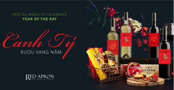 Lunar New Year 2020 Zodiac Wine