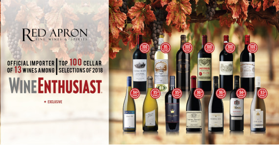 Our 13 wines in Wine Enthusiast top 100 cellar selection 2018