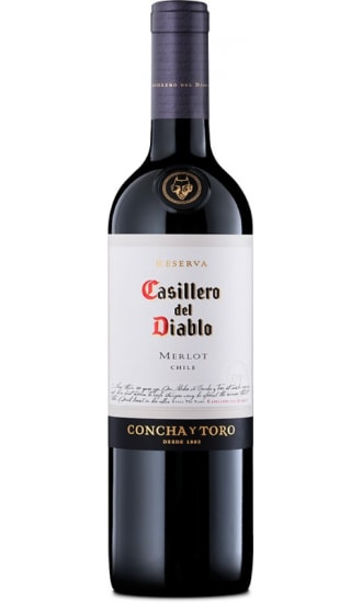 Casillero Del Diablo Merlot Reserva, by Concha y Toro, Central Valley