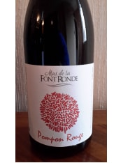 Pompon Rouge by Mas de la Font Ronde, Red, Southern France