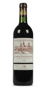 Chateau Cos dEstournel, 2nd Grand Cru Classe, Red, Saint Estephe 1989