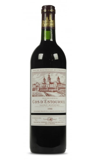 Chateau Cos dEstournel, 2nd Grand Cru Classe, Red, Saint Estephe 1989