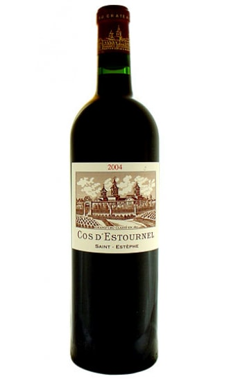 Chateau Cos dEstournel, 2nd Grand Cru Classe, Red, Saint Estephe 2004
