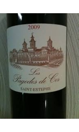 Les Pagodes de Cos, Grand Cru Classe, Red, Saint Estephe 2009,