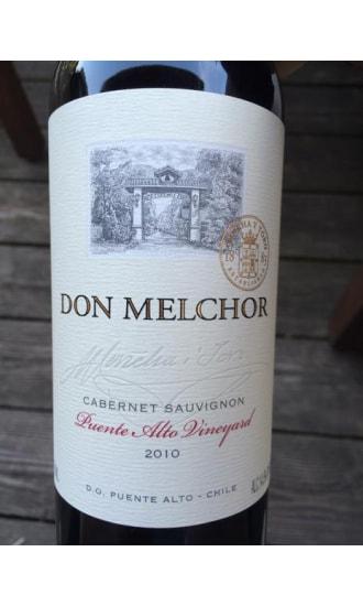Don Melchor Cabernet Sauvignon 2010, by Concha y Toro, Central Valley