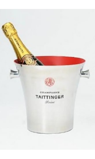 Taittinger Stainless Steel Ice Bucket 1 btl
