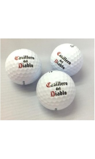 Casillero del Diablo Wine Legend Golf Ball (set of 3)