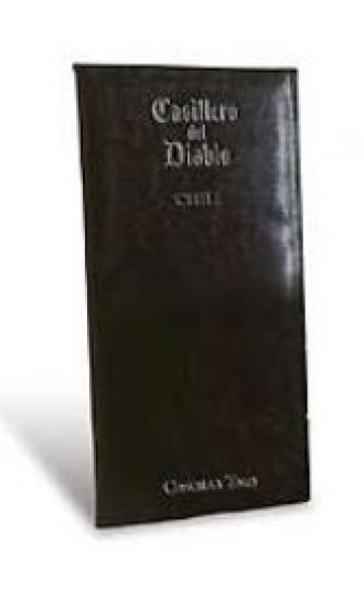 Casillero del Diablo Faux Leather Menu Cover