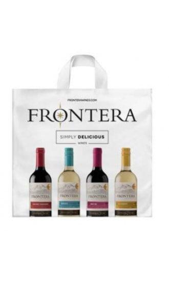 Frontera Paper bag 20x40cm for 4 btls