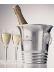 Taittinger Aluminum Ice Bucket 1 btl