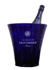 Taittinger Blue Fluo Plastic Ice Bucket 1 btl
