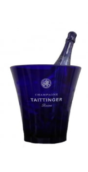 Taittinger Blue Fluo Plastic Ice Bucket 1 btl