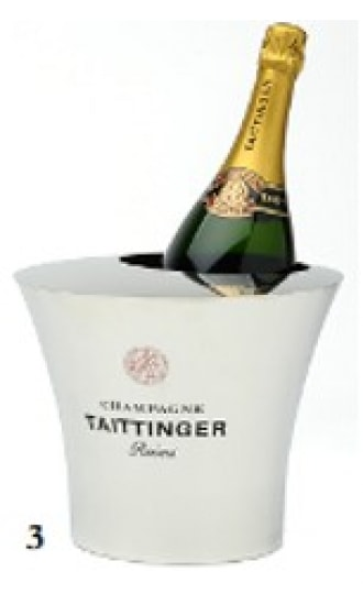 Taittinger Magnum Tin Ice Bucket 1 btl