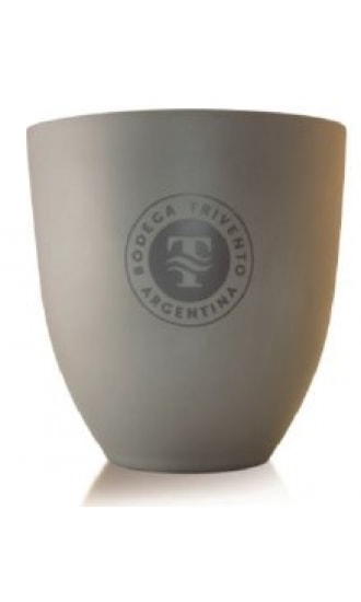 Trivento Ice Bucket Grey Metal