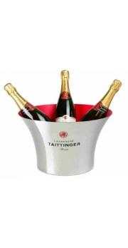 Taittinger Stainless Steel Ice Bucket 4 Btls