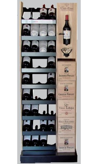 Club Elite Wine Display