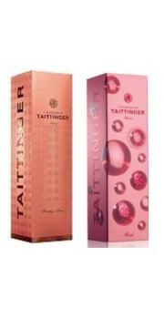 Taittinger Rose Carton Gift Box 1 btl