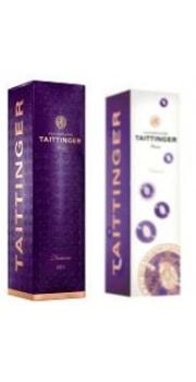 Taittinger Purple Nocturne Carton Gift Box 1 btl