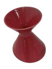 Cordier Red Ceramic Spittoon