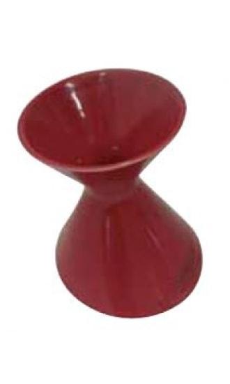 Cordier Red Ceramic Spittoon