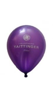 Taittinger Purple Metallic Balloon