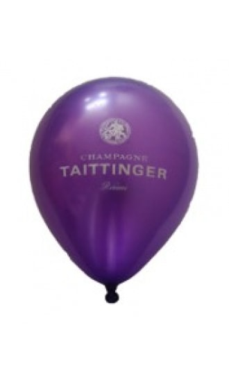 Taittinger Purple Metallic Balloon