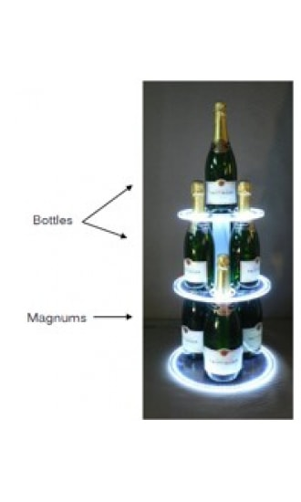 Taittinger Luminous Pyramid Set