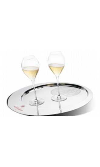 Taittinger Stainless Steel Tray