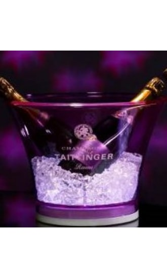 Taittinger Purple Plastic Ice Bucket XL