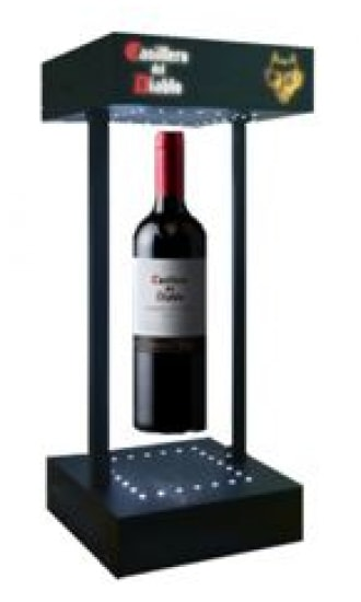 Casillero del Diablo Flying bottle Display