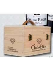 "Cordier ""Club Elite"" Wooden 4 btl Case"