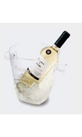 Casillero del Diablo Reserva Privada Transparent Plastic Ice Bucket