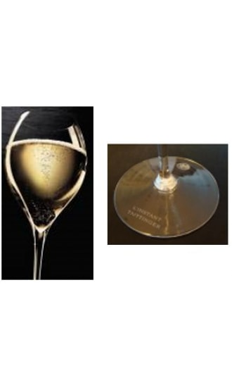 Taittinger Mouth Blown Glass 30cl l'Instant