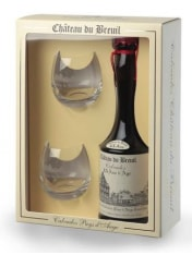 Chateau du Breuil Carton Gift box (for 70cl bottle and 2 glasses)