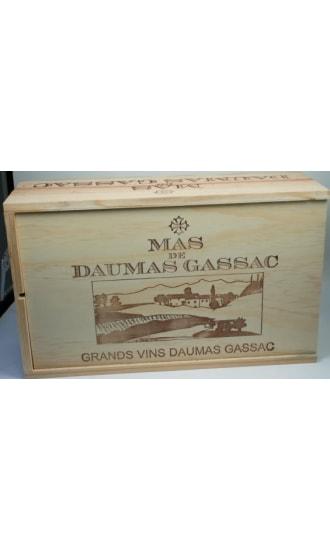 Daumas Gassac Wooden Gift Box 2 btls