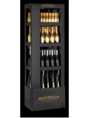 Bottega Black Carton Display