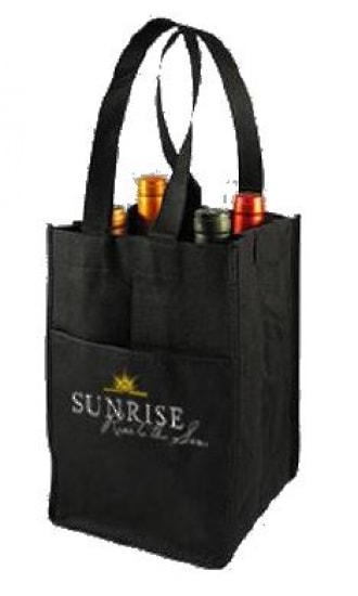 Sunrise Quadruple Wine Bag