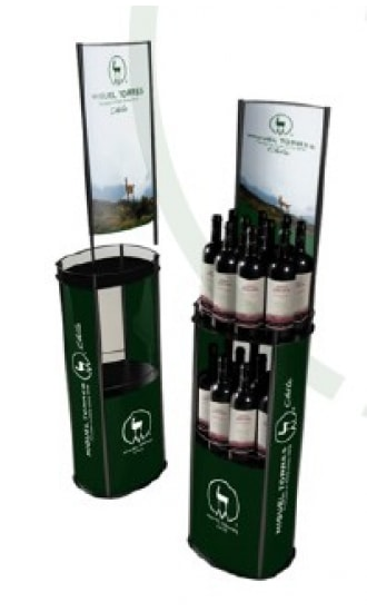Torres 20 Bottles Exhibitor 30006357